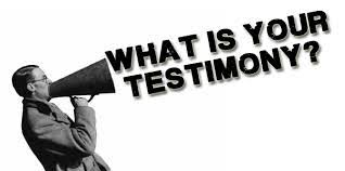 Image result for images testimony