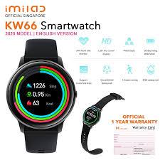 <b>IMILAB</b> Xiaomi Mijia <b>KW66</b> Smartwatch 2020 Heart Rate Sports Full ...