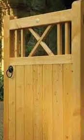 buxton wooden garden gate