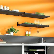 wall hung shelf brackets belt black metal bracket 3