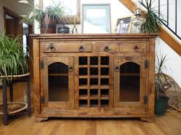 autumn furniture. Autumn Comfort Alder Wine Cabinet (Antiqued Light Walnut) Furniture