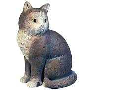 cat garden statue. sleeping cat statues for the garden cement statue