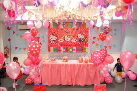 room decoration for baby birthday
