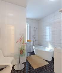 Fully Tiled Bathroom Fully Tiled Bathroom With Bathtub 3d Model Max Cgtradercom
