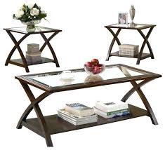 three piece coffee table set coaster 3 piece occasional table sets coffee table set for