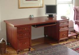 Image Executive Office Cherryofficedeskjpg Rylex Custom Cabinetry Closets Index Of imageshomeoffice