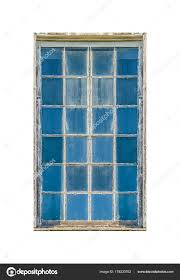 Altes Netz Glas Fenster Isoliert Foto Stockfoto Danflcreativo