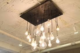 handmade lighting fixtures. Kitchen Mesmerizing Industrial Chic Chandelier 30 20 Unconventional Handmade Lighting Designs You Can DIY 11 Impressive Fixtures L