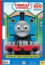 Thomas Giant Colori Golden Books 9780375847257 Books