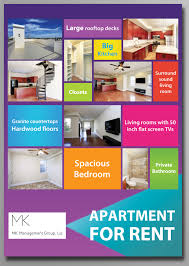 Apartment Flyer Ideas Colorful Bold Real Estate Flyer Design For A Company By Sy