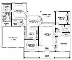 3 Bedroom Open Floor House Plans