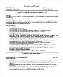 Property Manager Resume New 28 Property Manager Resume Templates PDF DOC Free Premium