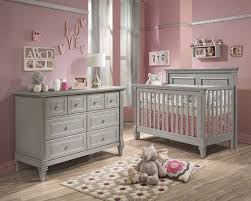 baby girl nursery furniture. Baby Cribs And Furniture | Belmont 2 Piece Nursery Set In Stone Grey - Crib Double Dresser Girl Pinterest