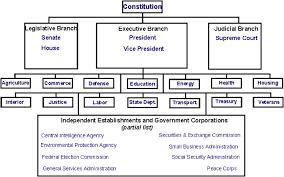 United States Government Flow Chart 20thcenturyushistory Unit 1 Austen