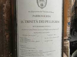 Image result for santissima trinita dei pellegrini Rome