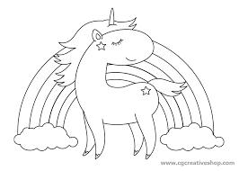 Disegno Di Unicorno Per Bambini Da Colorare
