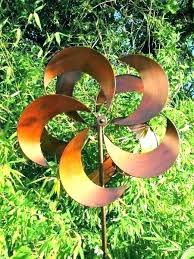 metal wind spinners large garden spinners metal garden spinner garden wind spinner garden art metal wind