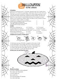 Halloween Worksheets Middle School Worksheets for all | Download ...