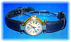 ladies gold face dunhill sapphire winder watch clocks and watches ladies gold face dunhill sapphire winder watch image1