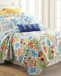 Caribbean Joe Cotton Quilt-Coastal-Quilts-Bedding-Bed & Bath ... & Caribbean Joe Cotton Quilt Adamdwight.com
