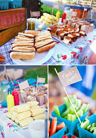 Table decor for a backyard BBQ! Cute ideas from @Hostess with the Mostess #