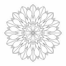 Disegni Da Colorare Difficili Per Adulti Mandala