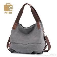 large vintage canvas leather hobos bag women shoulder hobo bag womans canvas handbag cross fur bags shoulder las cute bag toting leather backpack