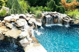 inground pools with waterfalls. Inground Pool With Waterfall Pools By Design New Jersey Swimming . Waterfalls