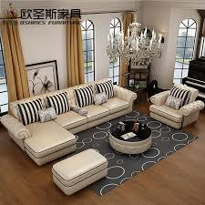 italia sofa furniture. OSHINES FURNITURE Pabrik Grosir Royal Furniture Sudut Sofa Kulit Italia Asli Set 112L D