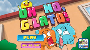the amazing world of gumball oh no g lato sarah has no chill cartoon network games