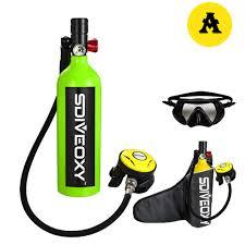 diving equipment <b>SDIVEOXY</b> 700 <b>1L</b> diving oxygen tank underwater ...