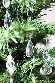 add chandelier crystals to your tree via maisondepax com
