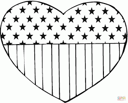 Small Picture Coloring Pages Coloring Page Of A Heart Printable Coloring Pages