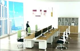Long Office Desks Interesting Conference Table With In Desk Idea 9