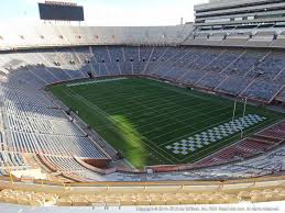 Neyland Stadium Seating Chart 2018 Tennessee Football Tickets 2019 Vols Games Ticketcity