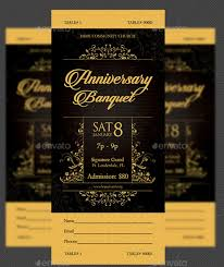 Banquet Tickets Sample 18 Formal Banquet Ticket Designs And Templates Psd Ai