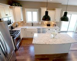 Kitchen Layout With Island L Shaped Kitchen Layout With An Arched Overhang On The Island