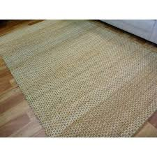 chunky jute braid weave natural colour fiber area rugs runners mat