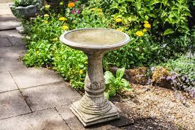 Bird Bath Garden Design Lala Design Garden Birdbath
