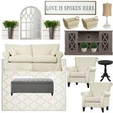 Makeover Living Room Farmhouse Rehab Affordable Living Room Makeover