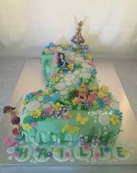 Tinkerbell Birthday Cake Tinkerbell Cake For A First Birthday Koeke