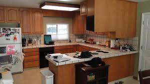 kitchen granite countertops wooden varnished cupboard beige ivory ceramic tile rustic wood countertops grey wooden