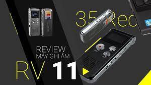 Máy ghi âm siêu nhỏ RV11 8GB 2 Mic lọc noise tiếng ồn giá rẻ tại TPHCM