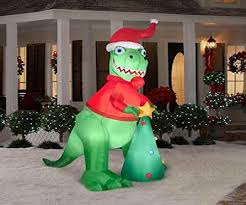 Dinosaur Lawn Decorations Outdoor Christmas Decorations Dinosaur Best Images Collections