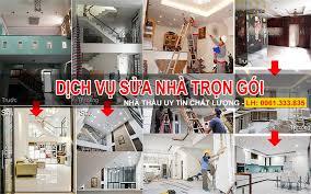 1 Dịch vụ Sửa chữa nhà Trọn gói Giá rẻ (Sửa nhà Uy Tín) tphcm - Nhà Đẹp Số