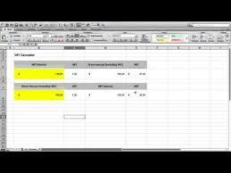 Vat Calculation Formula In Excel Download How To Make A Vat Calculator In Microsoft Excel Free Vat