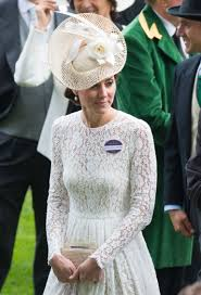 Kate Middleton Channels Audrey Hepburn s My Fair Lady In White.
