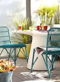 modern metal outdoor furniture. View In Gallery Round White Dining Table Modern Metal Outdoor Furniture