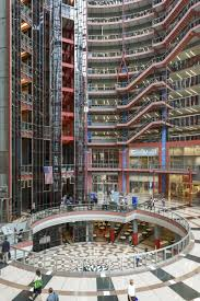 high tech modern architecture buildings. Beautiful Modern Decked Out In Endearingly Dmod Colors The Central Atrium Reinterprets  Stategovernment Building An Idiosyncratic Manner That Melds High Tech And  For High Modern Architecture Buildings