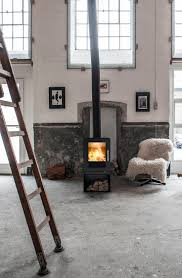 Perfect cosiness - with soft fur and lovely warm from the #woodburning #